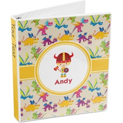 Dragons 3-Ring Binder (Personalized)