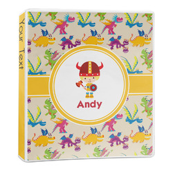 Dragons 3-Ring Binder - 1 inch (Personalized)