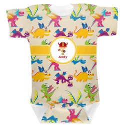 Dragons Baby Bodysuit 6-12 (Personalized)