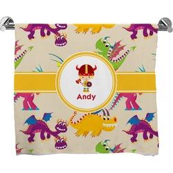 Dragons Full Print Bath Towel (Personalized)