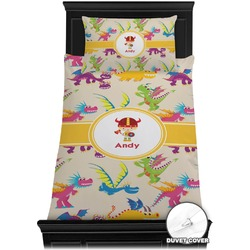 Dragons Duvet Cover Set - Toddler (Personalized)