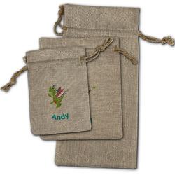 Dragons Burlap Gift Bags (Personalized)