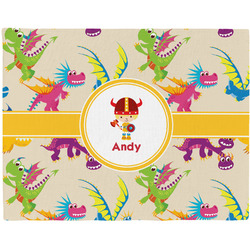 Dragons Woven Fabric Placemat - Twill w/ Name or Text