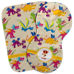 Dragons Burp Cloth (Personalized)