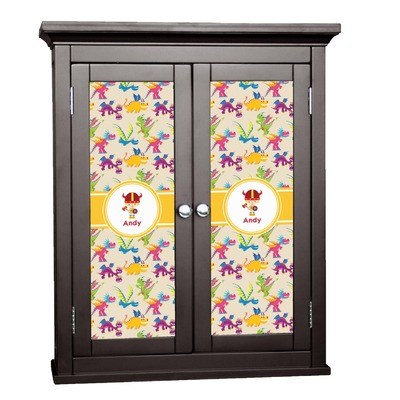 Dragons Cabinet Decal - XLarge (Personalized)