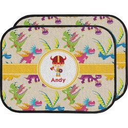 Dragons Car Floor Mats (Back Seat) (Personalized)