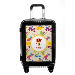 Dragons Carry On Hard Shell Suitcase (Personalized)