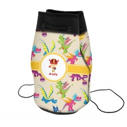 Dragons Neoprene Drawstring Backpack (Personalized)