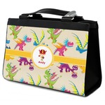 Dragons Classic Tote Purse w/ Leather Trim (Personalized)