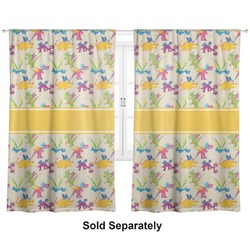 "Dragons Curtains - 40""x63"" Panels - Lined (2 Panels Per Set) (Personalized)"