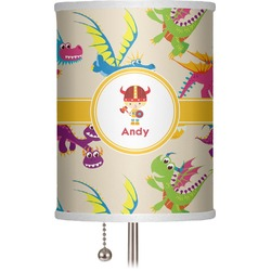 """Dragons 7"""" Drum Lamp Shade (Personalized)"""