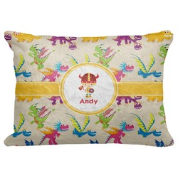 "Dragons Decorative Baby Pillowcase - 16""x12"" (Personalized)"