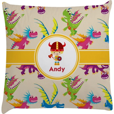 Dragons Decorative Pillow Case (Personalized)