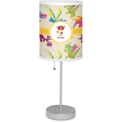 """Dragons 7"""" Drum Lamp with Shade (Personalized)"""