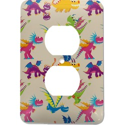 Dragons Electric Outlet Plate (Personalized)