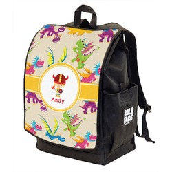 Dragons Backpack w/ Front Flap  (Personalized)