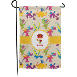 Dragons Garden Flag - Single or Double Sided (Personalized)
