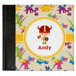 Dragons Genuine Leather Baby Memory Book (Personalized)