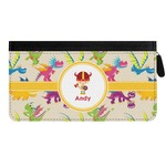 Dragons Genuine Leather Ladies Zippered Wallet (Personalized)