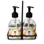 Dragons Soap & Lotion Dispenser Set (Glass) (Personalized)