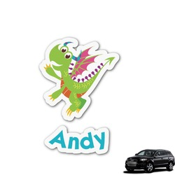 Dragons Graphic Car Decal (Personalized)