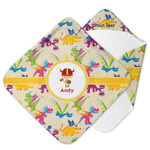 Dragons Hooded Baby Towel (Personalized)
