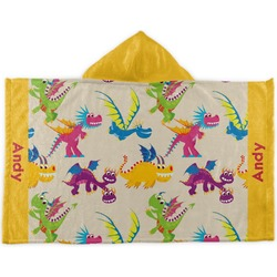 Dragons Kids Hooded Towel (Personalized)