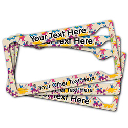 Dragons License Plate Frame (Personalized)