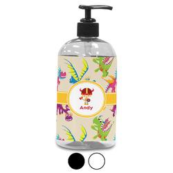 Dragons Plastic Soap / Lotion Dispenser (Personalized)