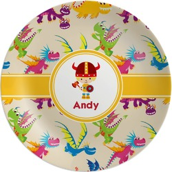 Dragons Melamine Plate (Personalized)
