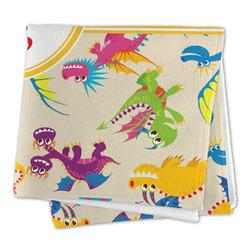 Dragons Large Microfiber Dish Rag (Personalized)