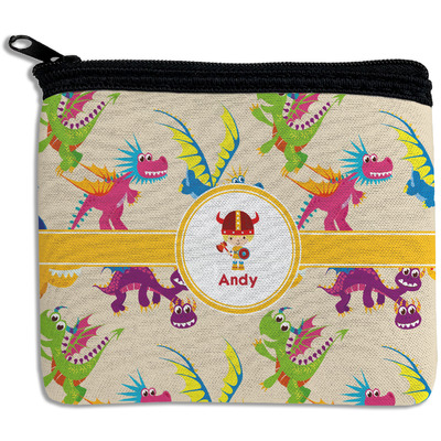 Dragons Rectangular Coin Purse (Personalized)