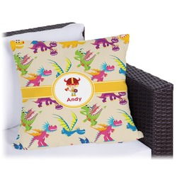Dragons Outdoor Pillow (Personalized)