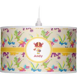 Dragons Drum Pendant Lamp (Personalized)
