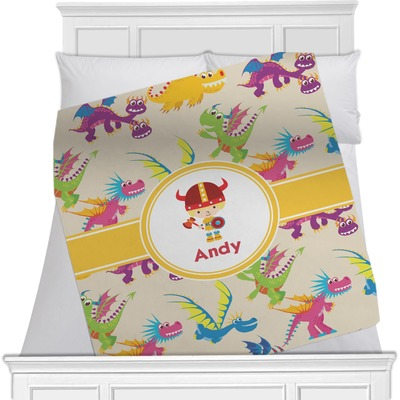 Dragons Minky Blanket (Personalized)