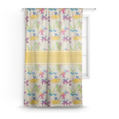 Dragons Sheer Curtains (Personalized)