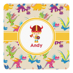 Dragons Square Decal - Custom Size (Personalized)