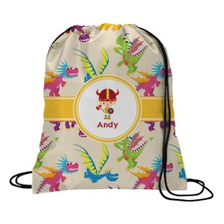 Dragons Drawstring Backpack - Large (Personalized)