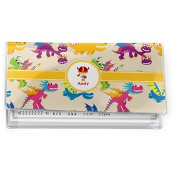 Dragons Vinyl Checkbook Cover (Personalized)
