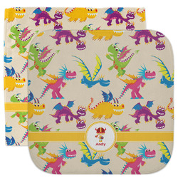 Dragons Facecloth / Wash Cloth (Personalized)