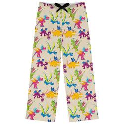 Dragons Womens Pajama Pants - XL (Personalized)