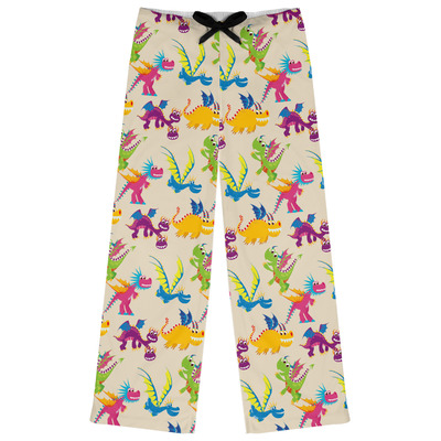 Dragons Womens Pajama Pants (Personalized)