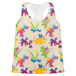 Dragons Womens Racerback Tank Top (Personalized)