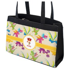 Dragons Zippered Everyday Tote (Personalized)