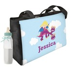 Girl Flying on a Dragon Diaper Bag (Personalized)