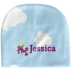 Girl Flying on a Dragon Baby Hat (Beanie) (Personalized)