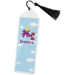 Girl Flying on a Dragon Book Mark w/Tassel (Personalized)
