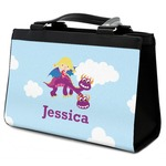 Girl Flying on a Dragon Classic Tote Purse w/ Leather Trim (Personalized)