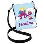 Girl Flying on a Dragon Cross Body Bag - 2 Sizes (Personalized)