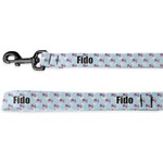 Girl Flying on a Dragon Deluxe Dog Leash (Personalized)